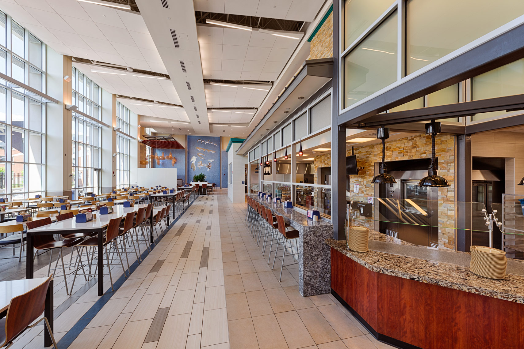 Old Dominion University Broderick Dining Commons
