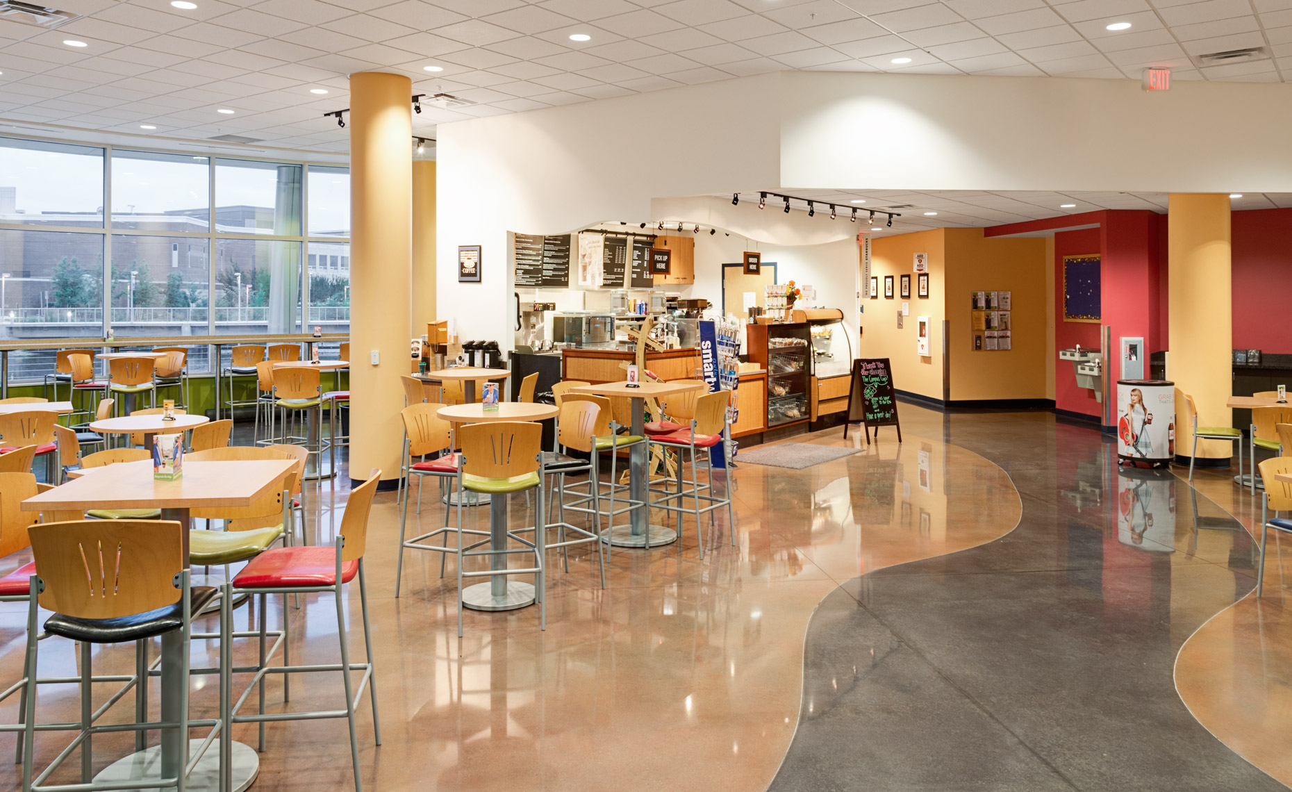 Tidewater Community College Virginia Beach Campus Student Center